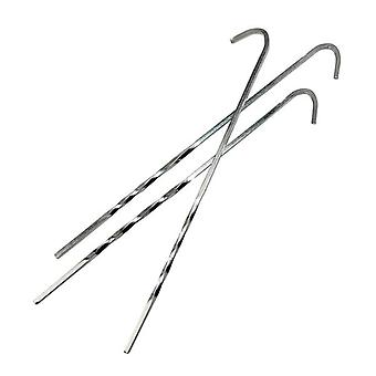 Yellowstone 9 Inch Steel Skewer Pegs 100 Pack