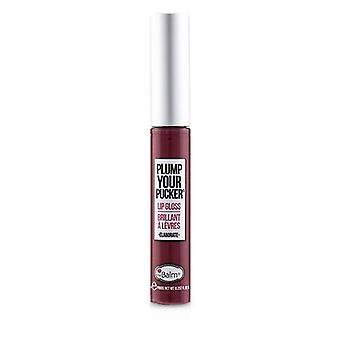 Thebalm plommon din Pucker lip gloss-# utarbeta-7ml/0.237 oz