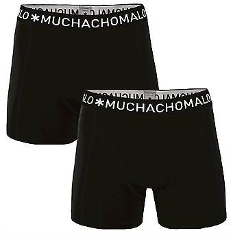 Muchachomalo Basic 2-pakkaus bokserit-musta