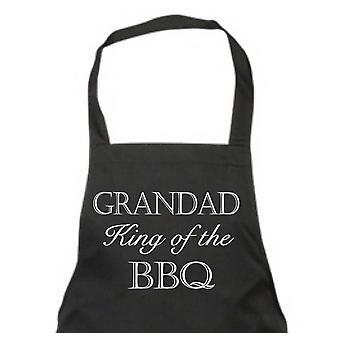 Grandad King of the BBQ Apron