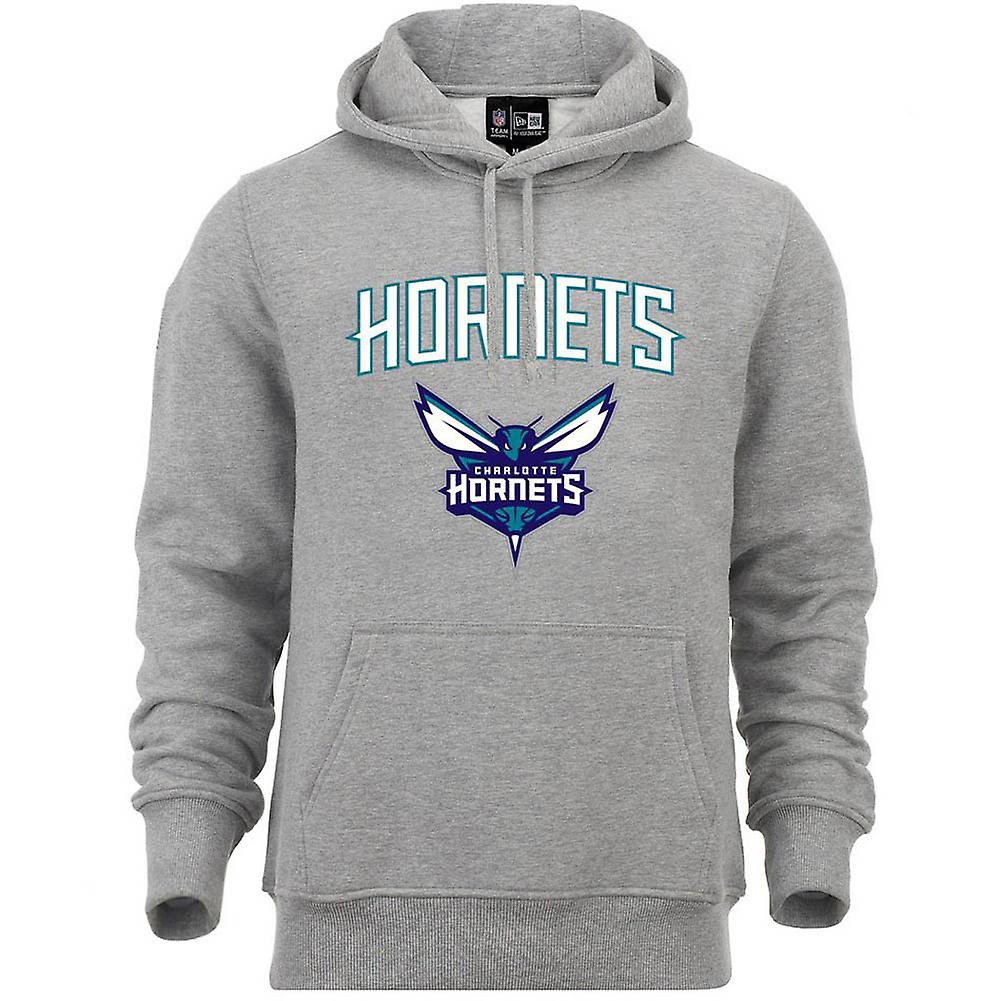 New Era fleece hoody-NBA Charlotte Hornets grå