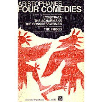 Fire komedier af Aristofanes - William Arrowsmith - 9780472061525 Bo