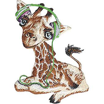 Patch - Animal Club - Giraffe Iron-On New Gifts Toys p-4480
