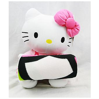 Blanket - Hello Kitty - Plush Doll & Blanket (Pink) Set New Fleece Throw 66543r