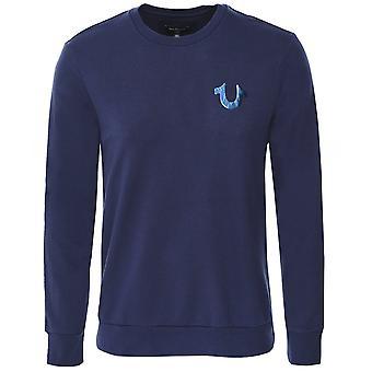True Religion Crew Neck Water Buddha Sweatshirt