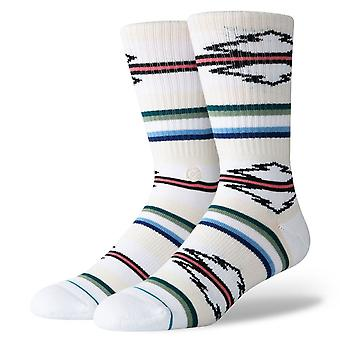 Stance Foundation Mens Socks ~ Odessa white (size L)