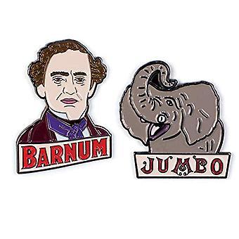 Pin set-P.T. Barnum en Jumbo nieuwe 5370