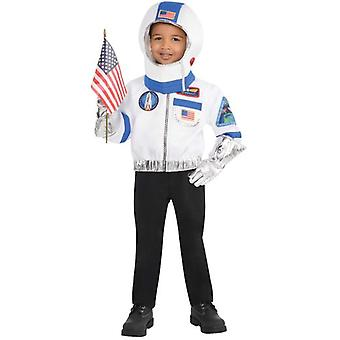 Amscan Astronaut Unisex Costume & Accessories (Babies and Children , Costumes)