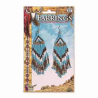 Bristol Novelty Unisex Adults Beaded Earrings (Pair)