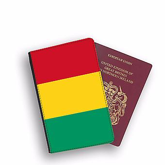 GUINEA Flag Passport Holder Style Case Cover Protective Wallet Flags design