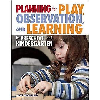 Voor spelen, observatie, planning en leren in de voorschoolse en kleuterschool