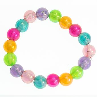 Single Plastic Crystal Bead Bracelet Party Bag Favour Filler