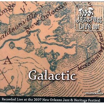 Galactic - Live at Jazz Fest 5/5/07 [CD] USA import