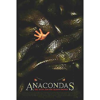 أناكونداس: البحث عن الأوركيد الدم (مزدوجة من جانب العادية) (2004) ملصق السينما الأصلي