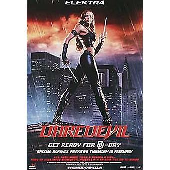 Daredevil (Elektra) (Single Sided) Original Cinema Poster