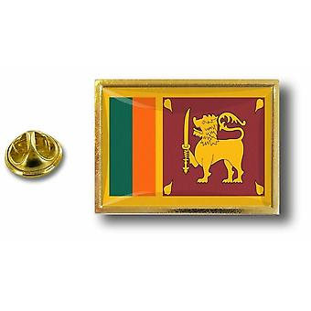 Pins Pin Badge Pin's Metal  Pince Papillon Drapeau Sri Lanka Sri Lankais