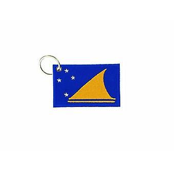 Cle Cles Key Brode Patch Ecusson Badge Tokelau Flag