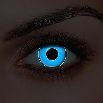 i-Glow Blue UV Contact Lenses (Pair)