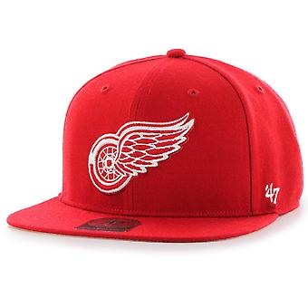 47 Brand Snapback Cap - CAPTAIN Detroit Red Wings rot
