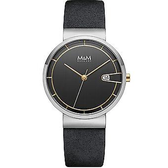 M & M Alemania M11953-465 Fecha reloj de damas