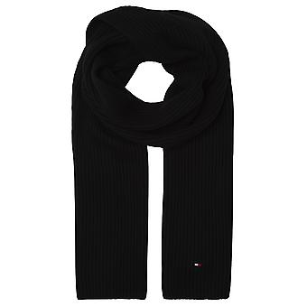 Tommy Hilfiger Pima Cotton Scarf Black
