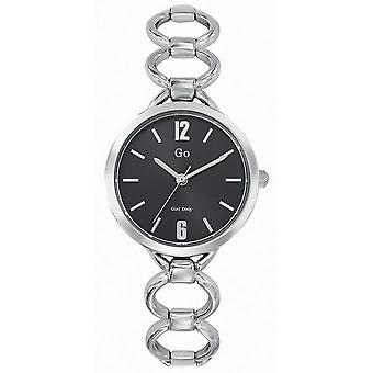 Watch Go Girl Only 695211 - Silver Steel Black Dial Woman