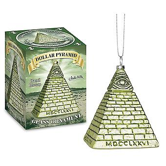 Ornament - Archie McPhee - Dollar Pyramid  New 12731