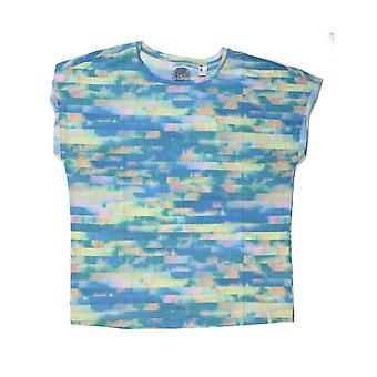 ONeill Ouvrez votre coeur Short Sleeve T-Shirt en Blue Aop