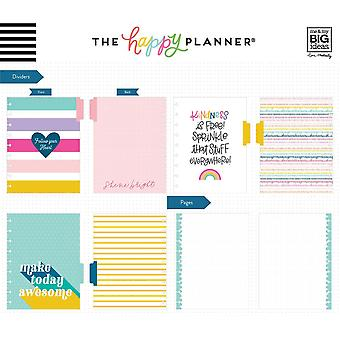 Happy Planner Medium Notebook W/60 Sheets-All The Notes