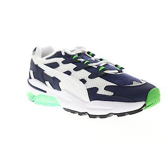 Puma Cell Alien OG menns blå hvit mesh Lace up lav topp joggesko sko
