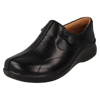 Ladies Unstructured by Clarks Slip On Shoes Un Loop2 Walk
