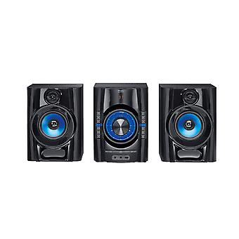 Mac Audio MPS 501 High-Power hifi-järjestelmä DAB +, Bluetooth, USB, CD, AUX, RDS-musta 1 kpl