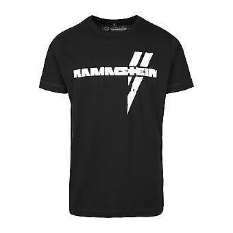 Rammstein Hommes T-Shirt White Beams