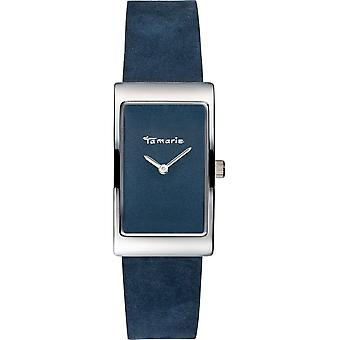 Tamaris - Wristwatch - Aila - DAU 22 - 5 x 38 - 5mm - Silver - Women - TW024 - Blue Silver