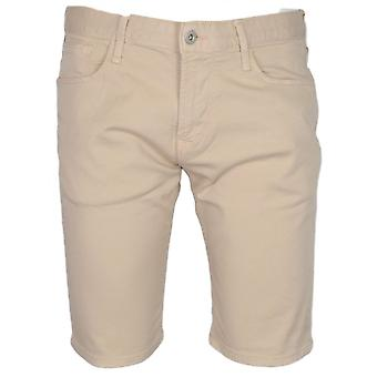 Emporio Armani Cotton Beige Shorts