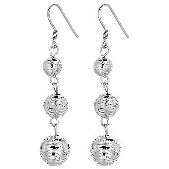 7.3mm x 18.2mm Solid 925 Sterling Silver Reflections Letter V Dangle Bead
