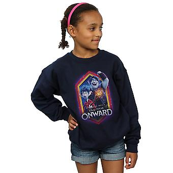 Disney Girls Onward Brothers Crest Sweatshirt