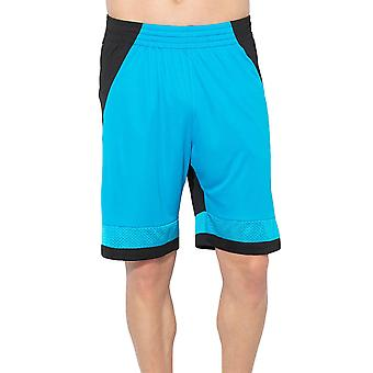 adidas Performance Mens Pro Bounce Sports Basketball Shorts - Blue/Black