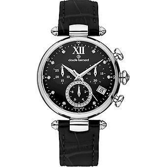 Claude Bernard - Wristwatch - Women - Dress code Chronograph - 10215 3 NPN1