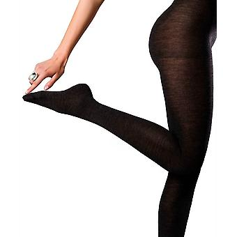 Falke No1 Finest Cashmere Tights - Anthra Melange