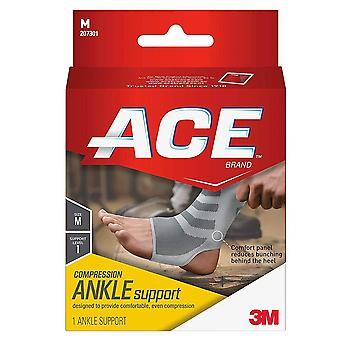 Ace brand knitted ankle support, medium, 1 ea