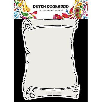 Hollandsk Doobadoo Card kunst Fold Skattekort A5 470.713.718