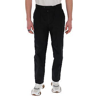 Pantalon en coton noir Junya Watanabe P0070511