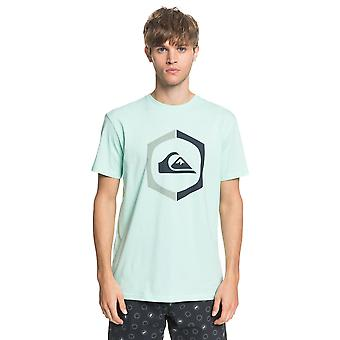 Quiksilver Men's T-Shirt ~ Sure Thing vert