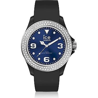 Ice Watch Armbandsur Unisex ICE stjärna Svart djupblå Smooth Small 017236