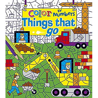 Color by Numbers - Things That Go by Arcturus Publishing - 97817842892