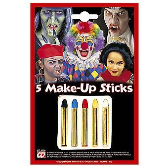 Make-up und Wimpern Kinder 5 Make-up Sticks