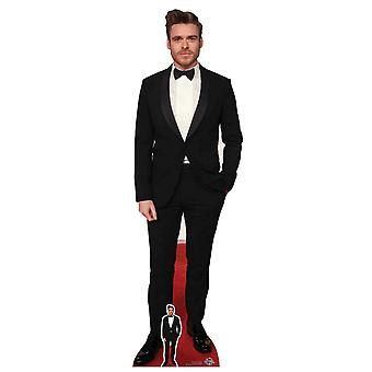 Richard Madden Bow Tie Black Tuxedo Lifesize Cardboard Cutout / Standee