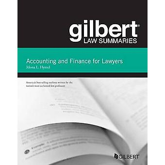 Gilbert Law Summaries on Accounting and Finance for Lawyers (2nd Revi