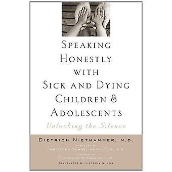 تكلم بصراحة مع المرضى ويموت الأطفال والمراهقين-أونلوك